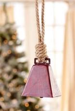 Giftcraft Inc. Metal Cowbell Design Ornament