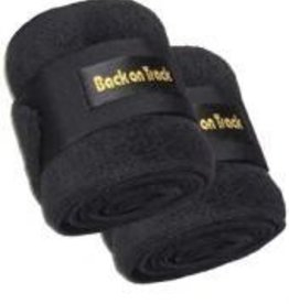 Back On Track Back On Track Therapeutic Polo Wraps Black 9'