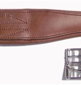 Girth - Thornhill Shannon Leather, Havana (Reg $59.95 NOW 40% OFF)