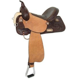 Circle Y Circle Y High Horse - Runaway Barrel Saddle 14""