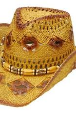 WEX WEX Diamond Hole Straw Hat