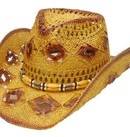 WEX Diamond Hole Straw Hat