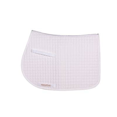 Back On Track Saddle Pad - Back On Track Therapeutic AP, White