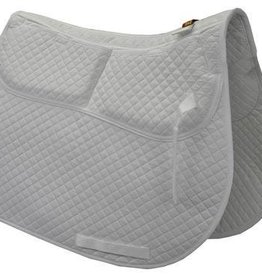 ECP ECP Cotton A/P Pad w/Memory Foam White
