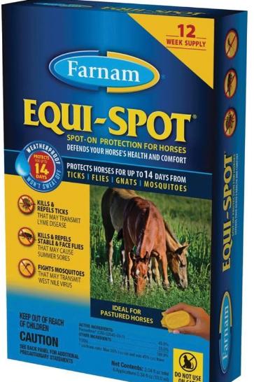 Farnam Equi-Spot Fly Protection liquid - 12 Week Supply