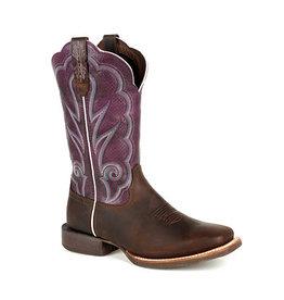 Rocky Women's Durango® Lady Rebel Pro  Ventilated Plum Western Boot