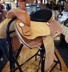 "Nash Saddlery 16"" Reg Bar Nash Barrel Saddle"
