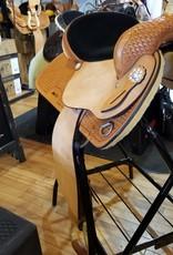 "Nash Saddlery 16"" Reg Bar Nash Barrel Saddle"