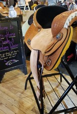 "Nash Saddlery 15"" Reg Bar Nash Barrel Saddle"