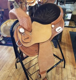 "Nash Saddlery 15"" Reg Tree  Nash Taylor Barrel Saddle"