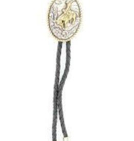 Bolo Tie - Oval Bucking Horse