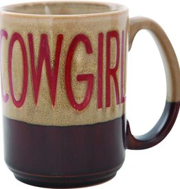 M & F Western Products Coffee Mug - Cowgirl - 16oz