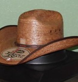 Milano Justin Bent Rail Buck Up Straw Hat 7 3/8