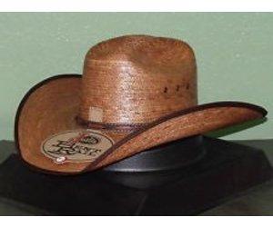 Milano Justin Bent Rail Buck Up Straw Hat 7 3 8 - Gass Horse Supply ... 52652b84869