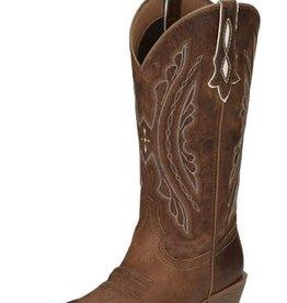 Justin Western Women's Justin Rein Western Boots - Waxy Tan