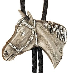WEX Bolo Tie - Pewter Horsehead