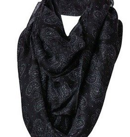 Noble Scarf - Infinity, Black