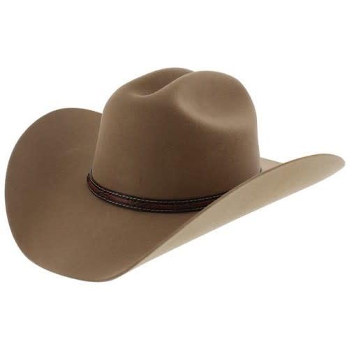 Justin Western Justin Gallop 2X Felt Hat, Fawn