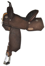 "Circle Y 15"" FQHB Circle Y Lindale Roughout Barrel Saddle"