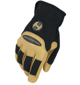 Heritage Heritage Stable Work Glove - Black/Tan