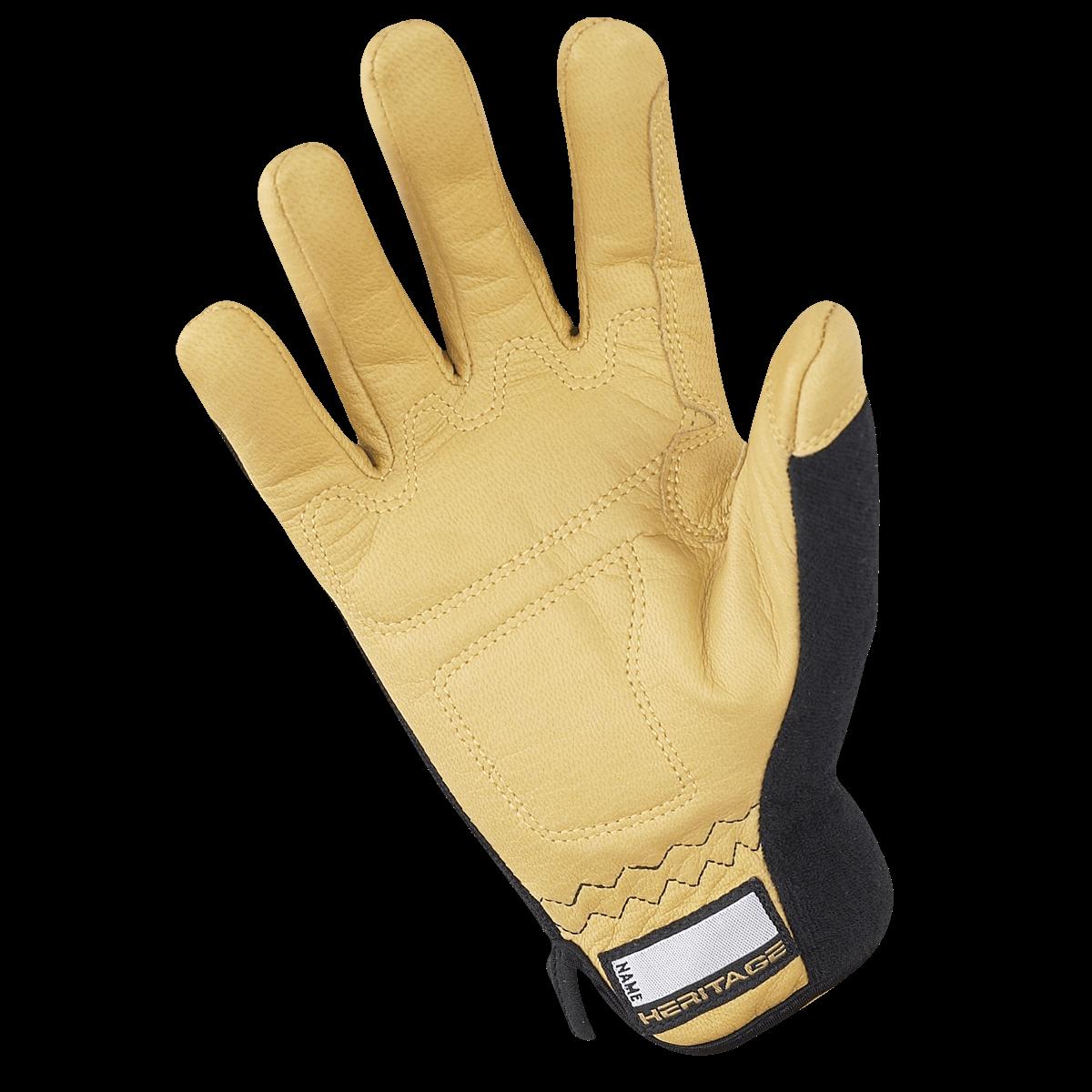 Heritage Heritage Stable Work Glove - Black/Tan
