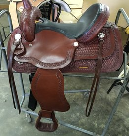 "Nash Saddlery 15"" Reg Bar Nash Western Trail Pleasure Saddle"