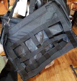 Hay Bag - Webbed Front, Black