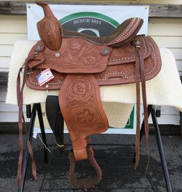 "12"" Semi Bar - Wild Star Trail Saddle - Medium Oil"