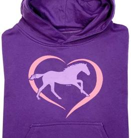 Stirrups Women's Stirrups Hoodie - Horse in Heart, Medium