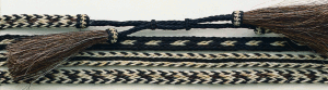 Twister Hat Band - Three Strand Natural Horsehair, Assorted