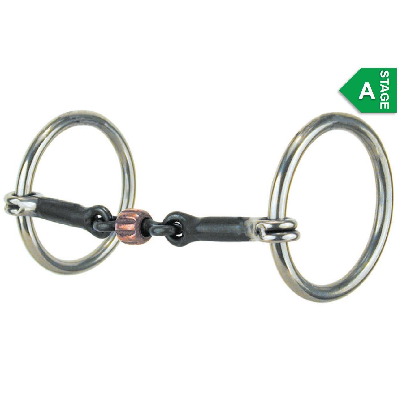 Reinsman Snaffle - Three-Piece Loose Ring
