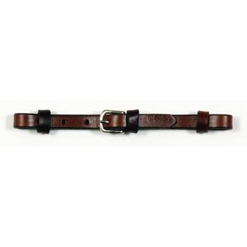 "Circle Y Curb Strap - 1/2"" Leather, Walnut"