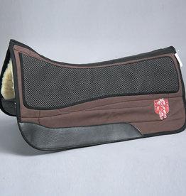 PRI Premium Equu Suede Western Horse Saddle Pad - Fleece Lined