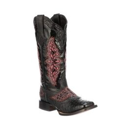 Lucchese Bootmaker Women's Lucchese Black Amberlyn