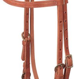 Weaver ProTack Quick Change Browband Headstall, Buckle Bit Ends
