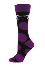 Adult's GT Reid Socks Purple Black