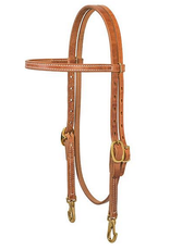 Weaver ProTack Single-Ply Browband Trainer Headstall