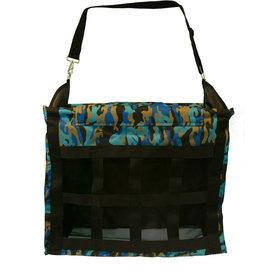 Hay Bag - Webbed Front, Blue Camo