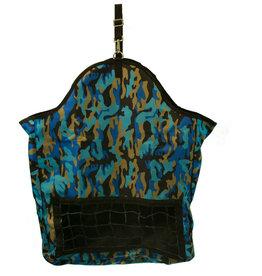 Hay Bag - Net Front, Blue Camo