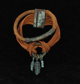 Bracelet - Blazin Roxx Suede Rope