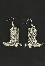 Earrings - Western Boot