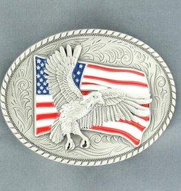 Nocona Belt Buckle - Nocona American Eagle