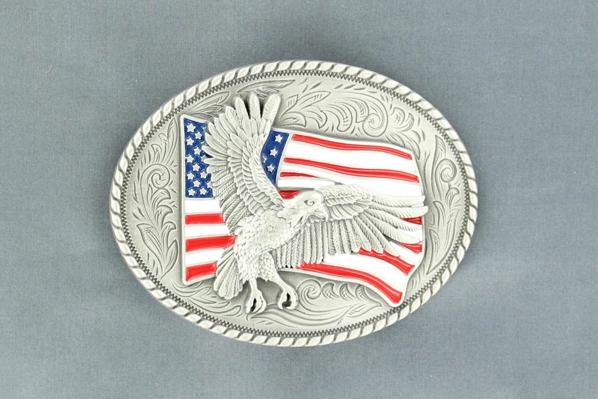 Nocona Belt Buckle - Nocona American Eagle