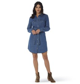 Wrangler Women's Wrangler Denim Shirt Dress