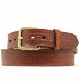 Nocona Adult - Leather Scalloped Belt, Various Sizes