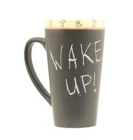Coffee Mug - Chalk Message Mug (Chalk Included, but coffee not included)