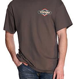 Wrangler Men's Wrangler Team Roping T-Shirt - Charcoal