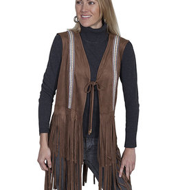 Scully Leather Women's Scully Honey Creek Vest - Tan Medium