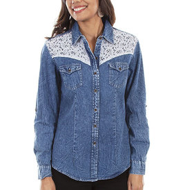 Scully Leather Women's Scully Denim Shirt