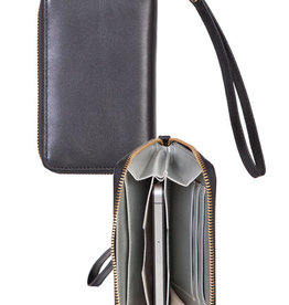 Scully Leather Wallet - Black Scully Leather